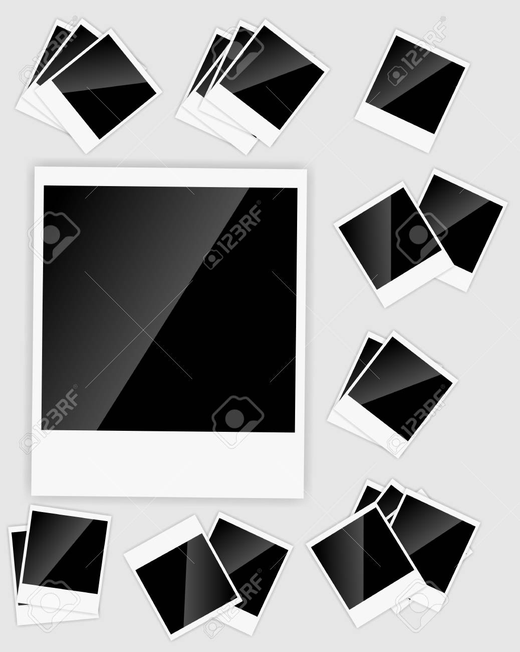 Blank  Instant picture Stock Vector - 16711281