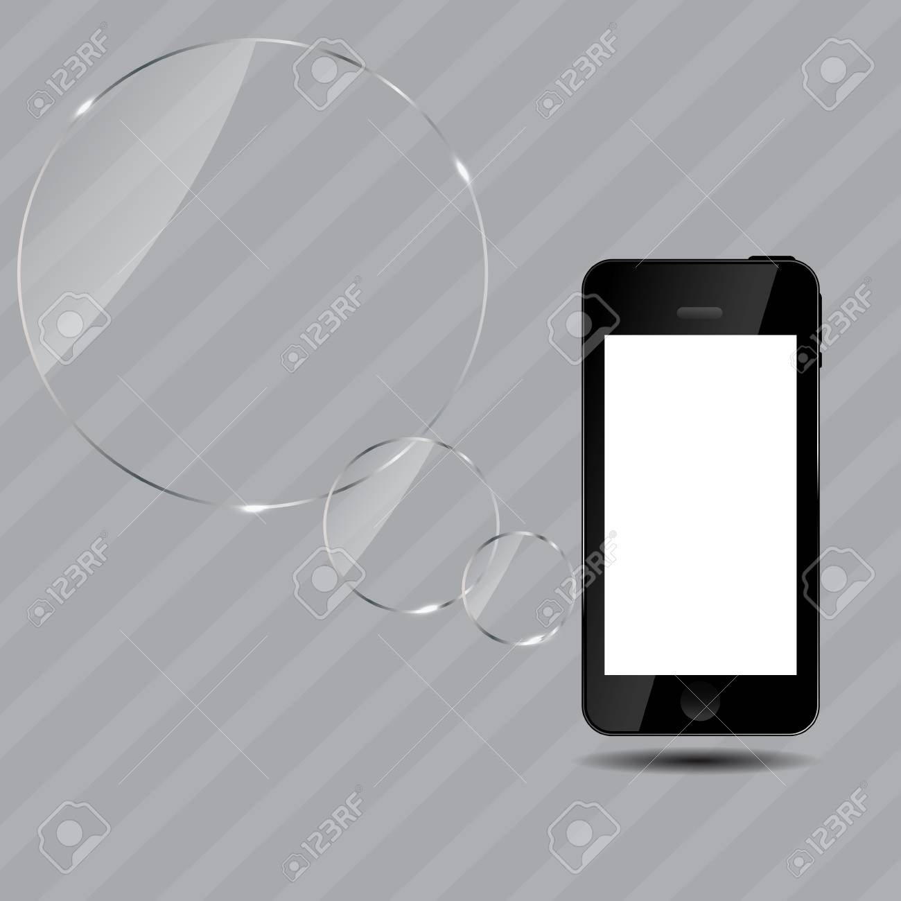 Abstract mobile phone Stock Vector - 16730984