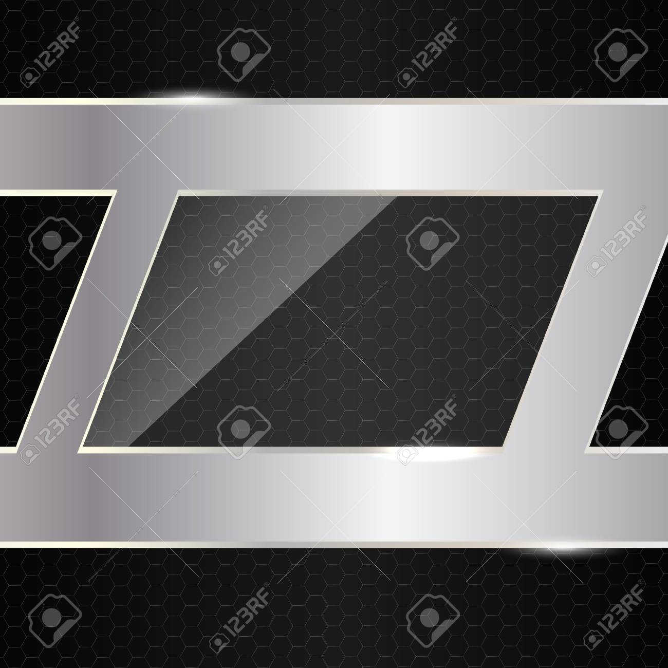Abstract metal background  Vector illustration Stock Vector - 17068651