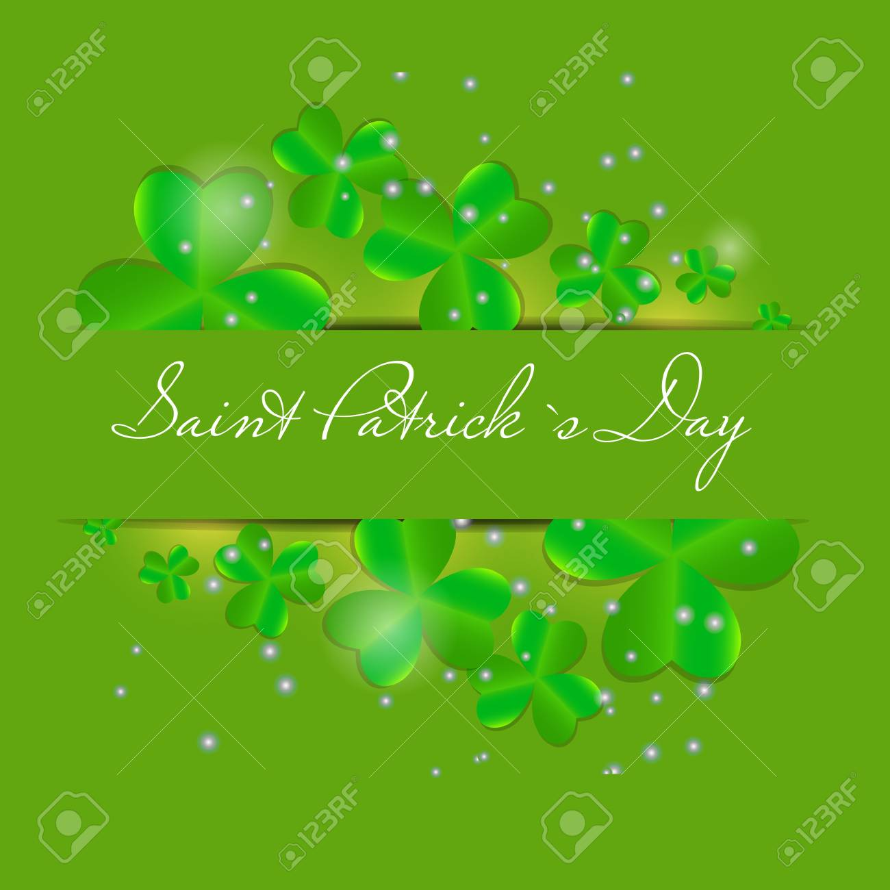 Saint Patrick s day background vector illustration Stock Vector - 17248793