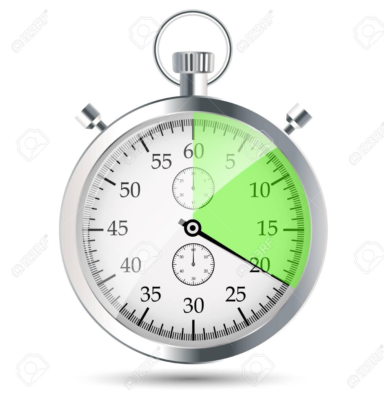 stopwatch vector illustraion Stock Vector - 19027642