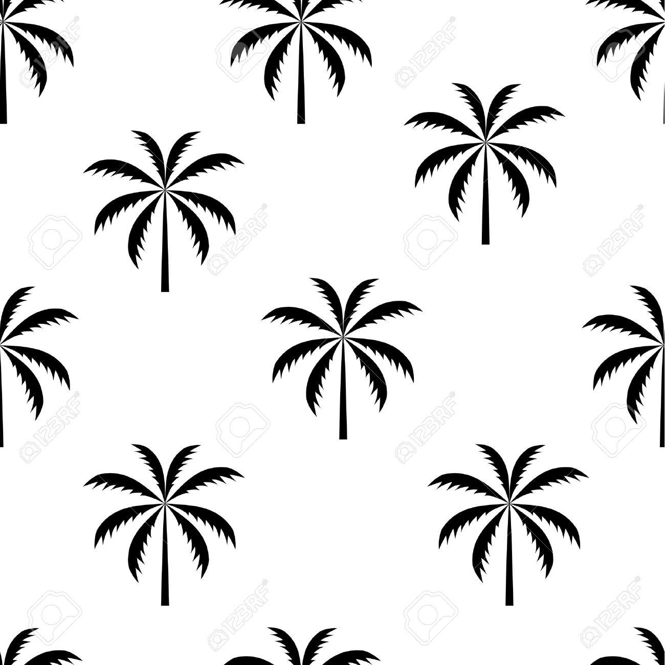palm tree seamless pattern vector illustration royalty free cliparts rh 123rf com