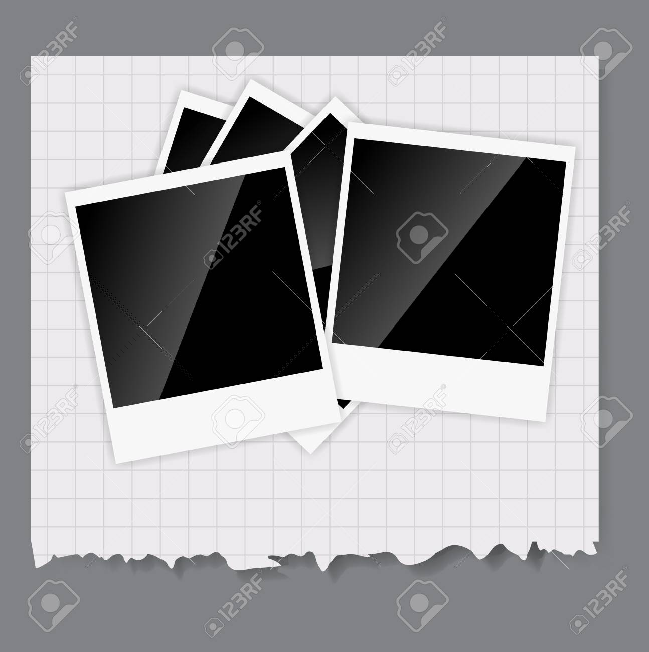 Camera, photos frame illustration Stock Vector - 20596488