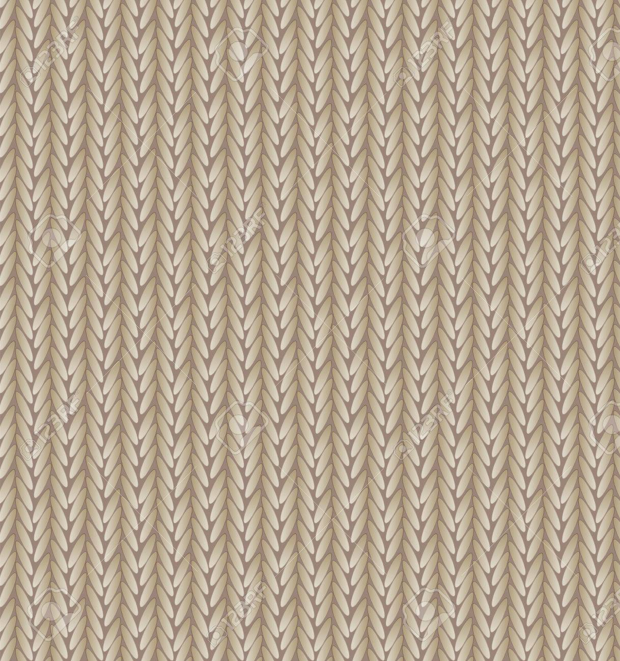 Fondo Marrón Textura De Suéter Ilustraciones Vectoriales, Clip Art ...