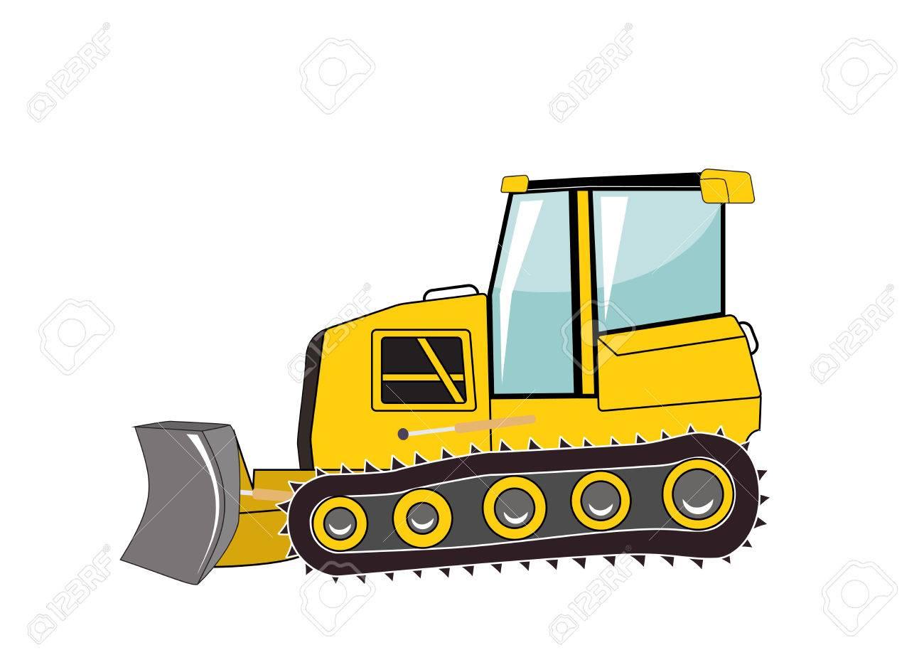 bulldozer major construction vector illustration eps10 royalty rh 123rf com construction vectorielle physique construction vector logo free