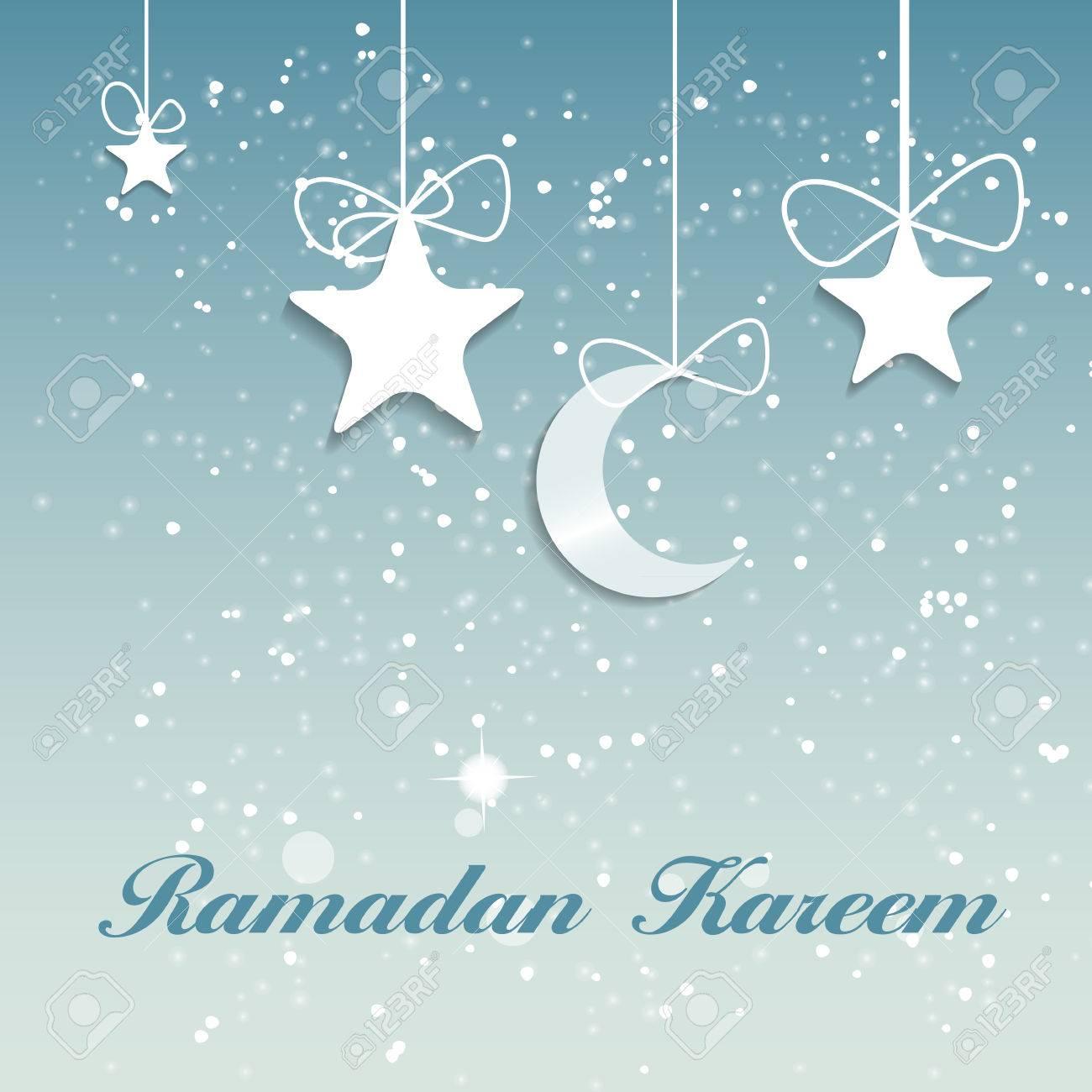 イスラム教徒のコミュニティ祭りイラスト背景 ロイヤリティフリー