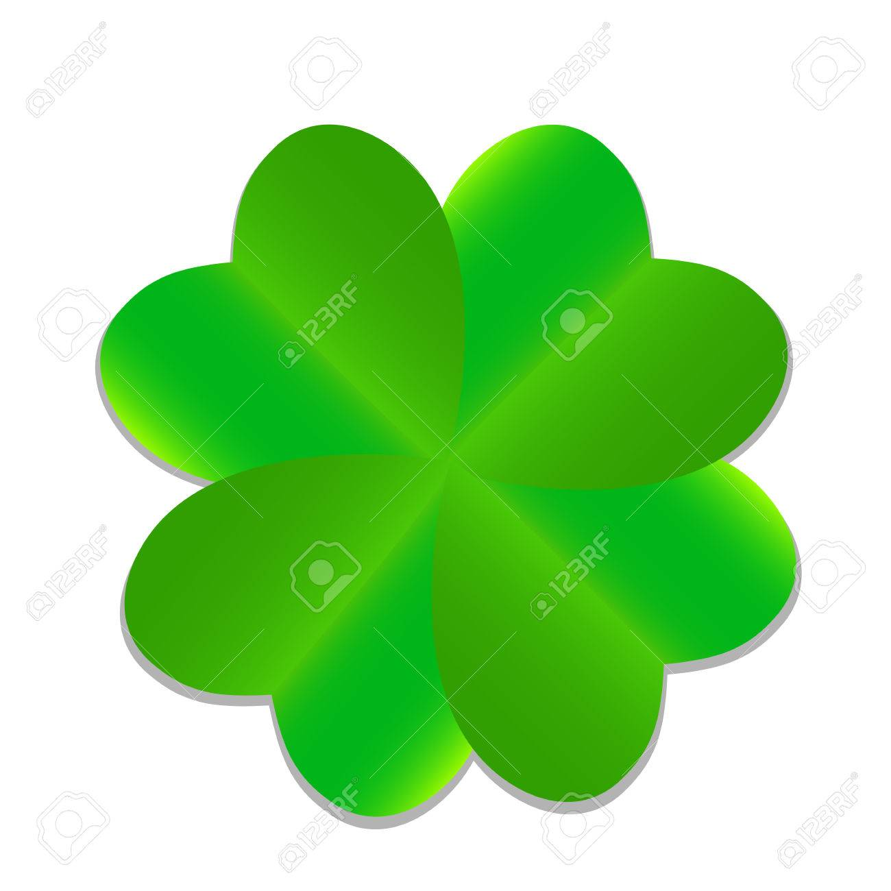 four leaf green clover vector illustration royalty free cliparts rh 123rf com 4 leaf clover vector four leaf clover vector outline