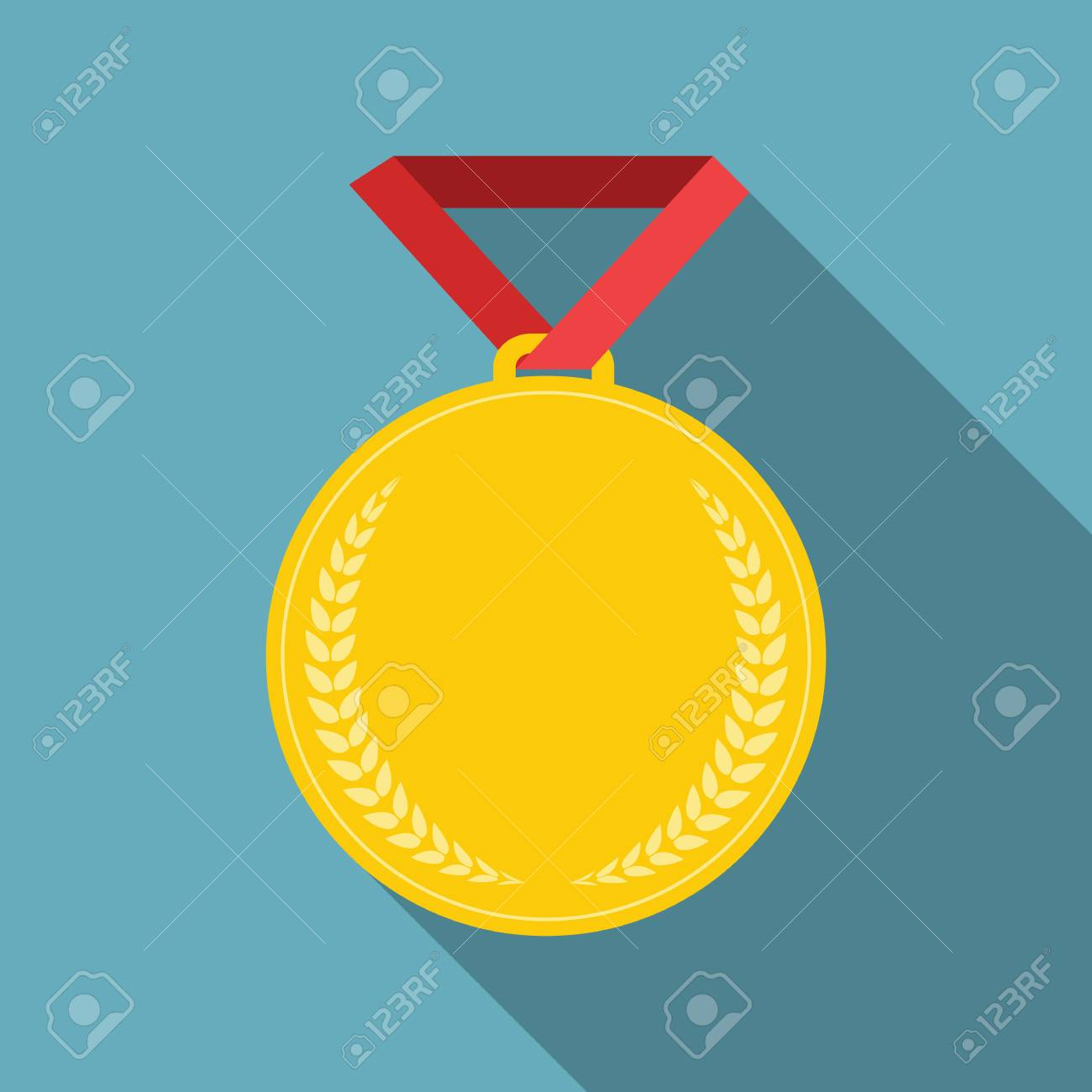 Art Flat Medal Icon Template for Web  Medal icon app  Medal icon