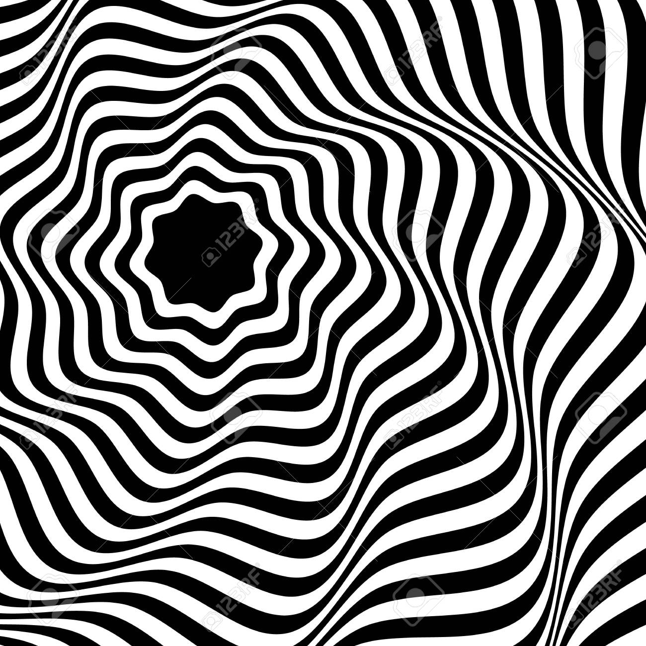 Black And White Abstract Background In The Style Of Pop Art Wallpaper Royalty Free Cliparts Vectors And Stock Illustration Image 146869939