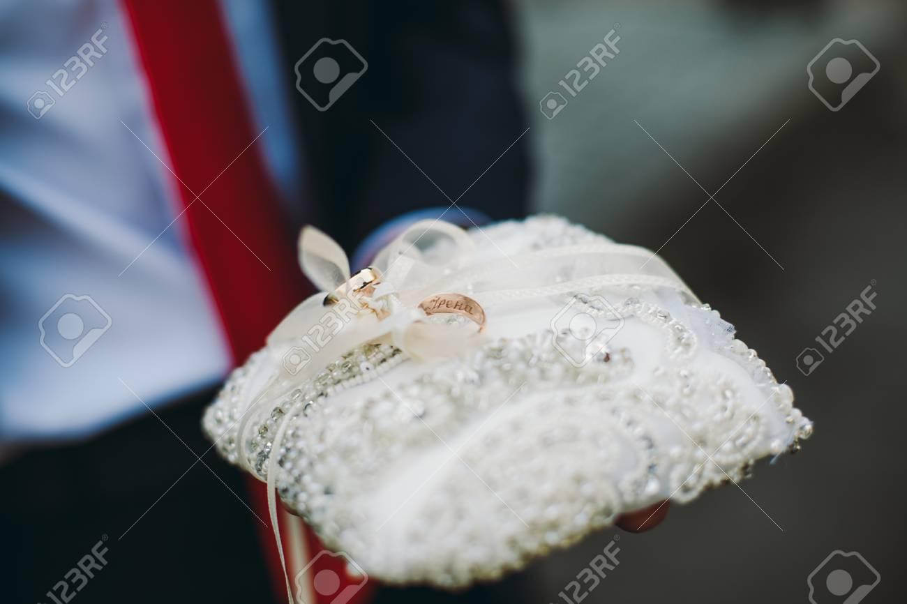 Luxus Hochzeit Ringe Mit Stilvoller Dekoration In Der Nahe Von Ihnen