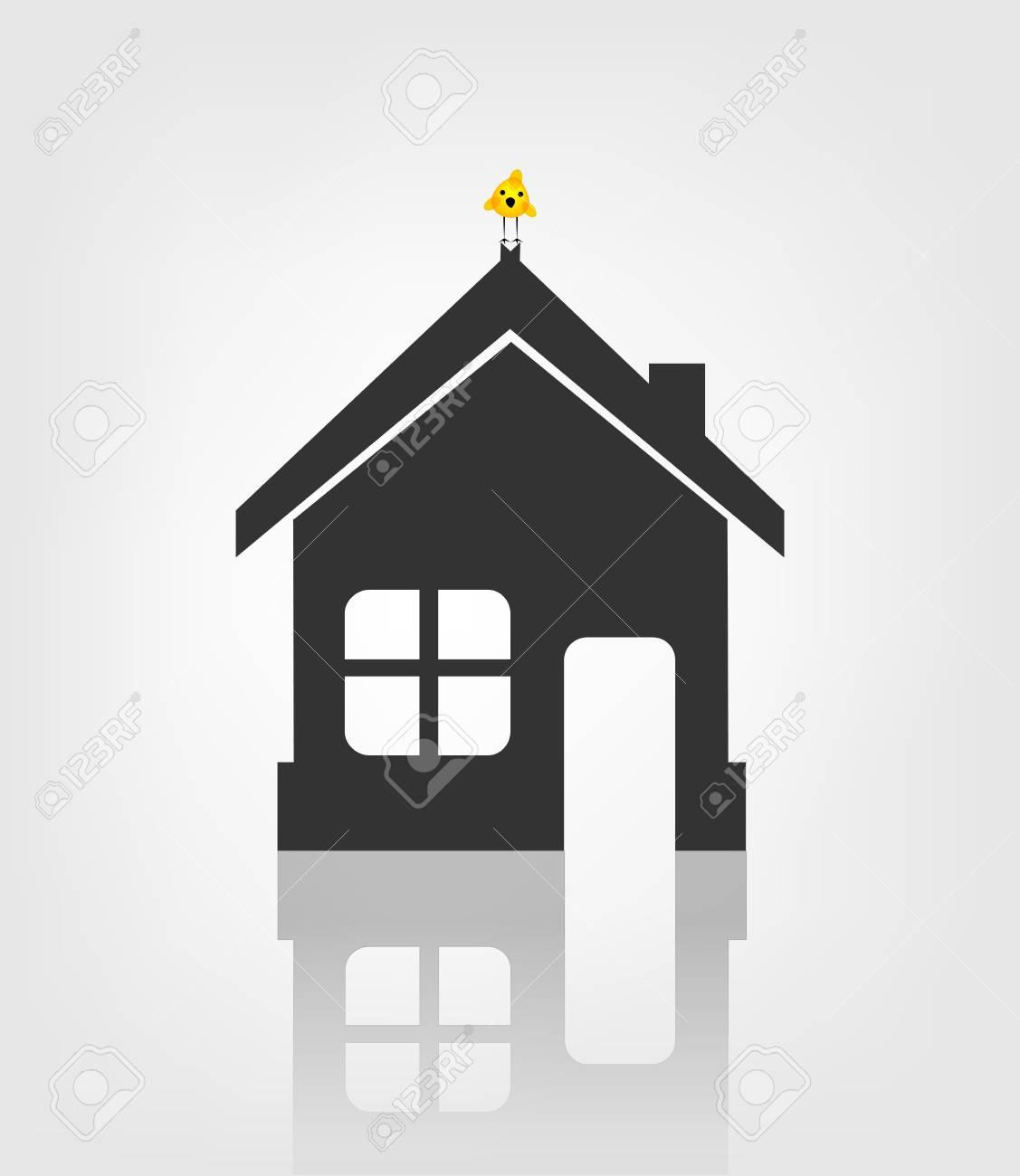 Home icon Stock Vector - 17477757