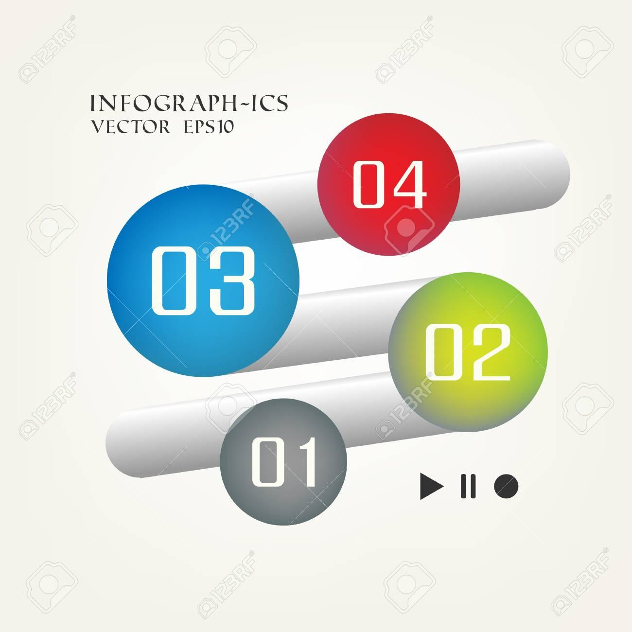 Minimal infographics Stock Photo - 21797817