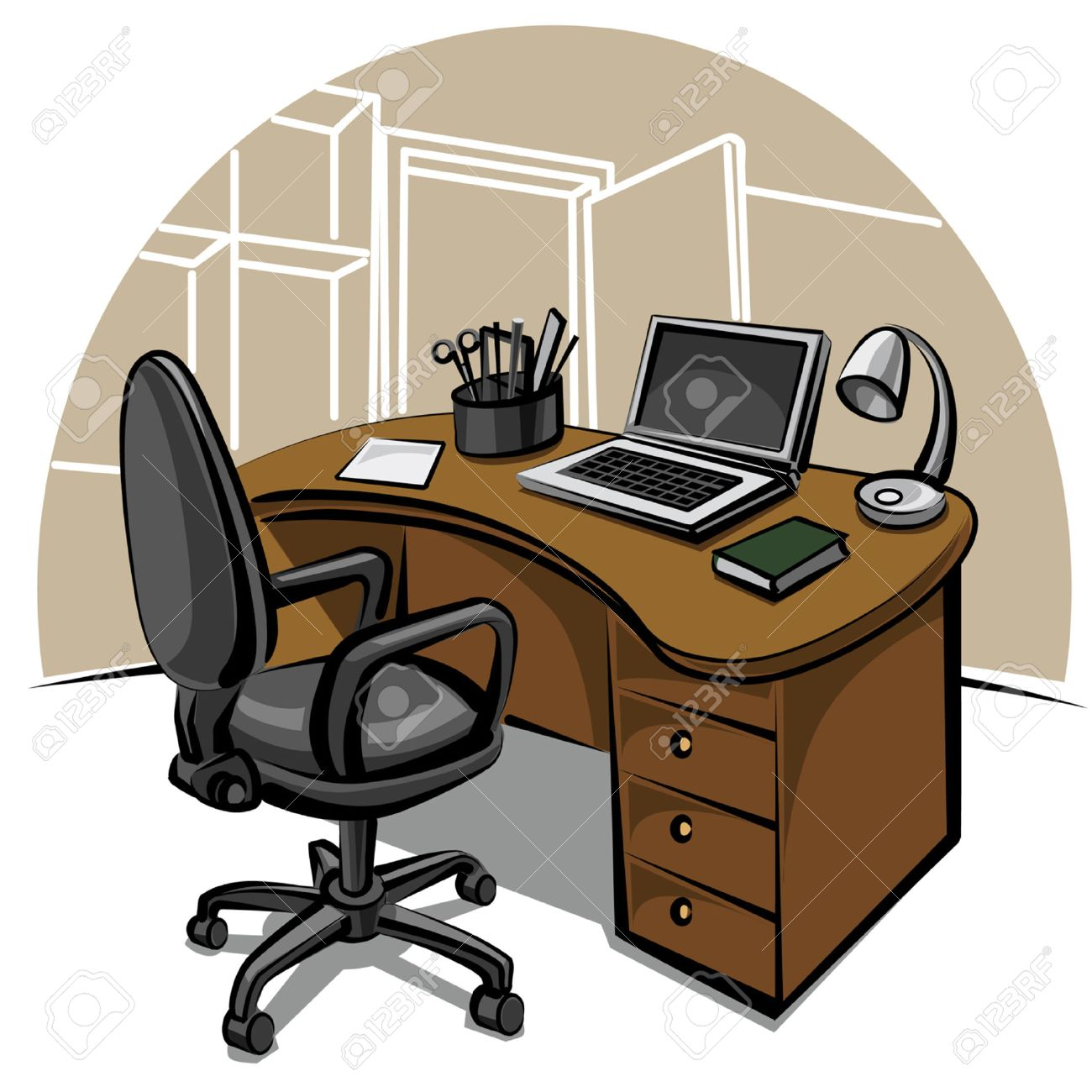 office work place - 8949323