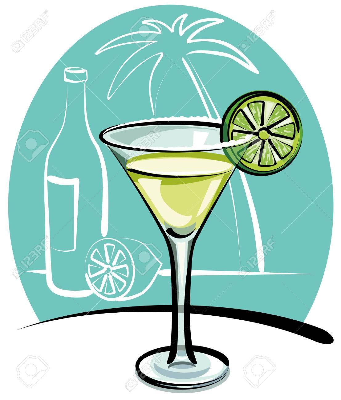 Cocktail Margarita Stock Vector - 9099918