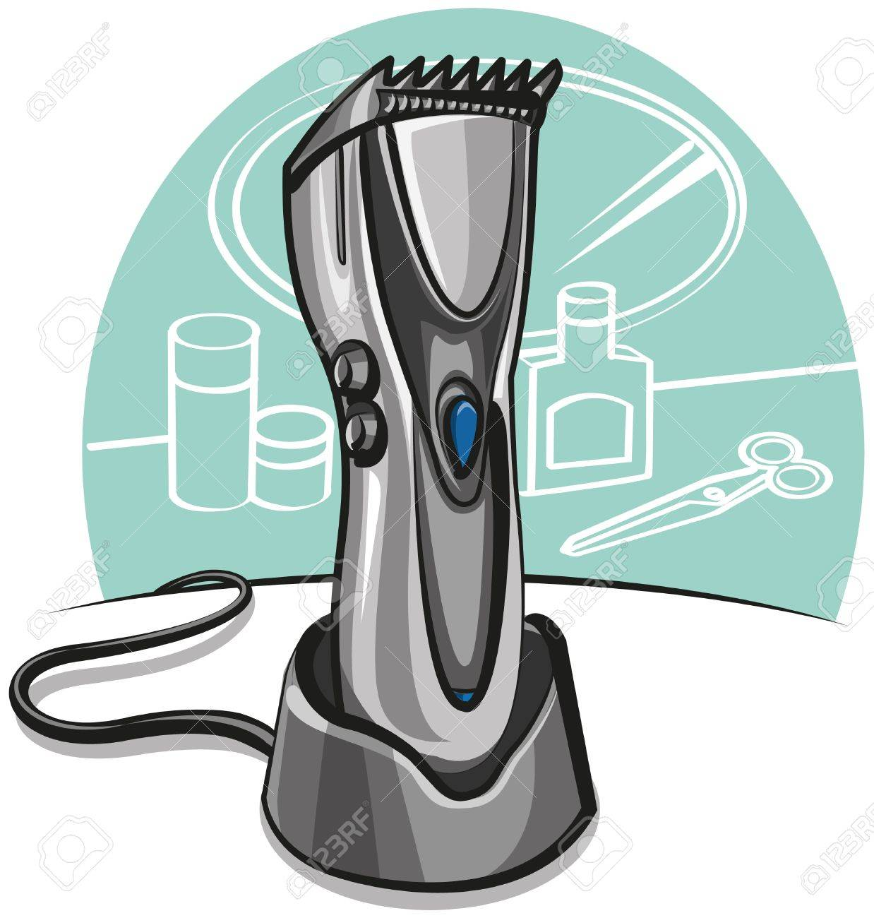 electric hair clipper Stock Vector - 10826215