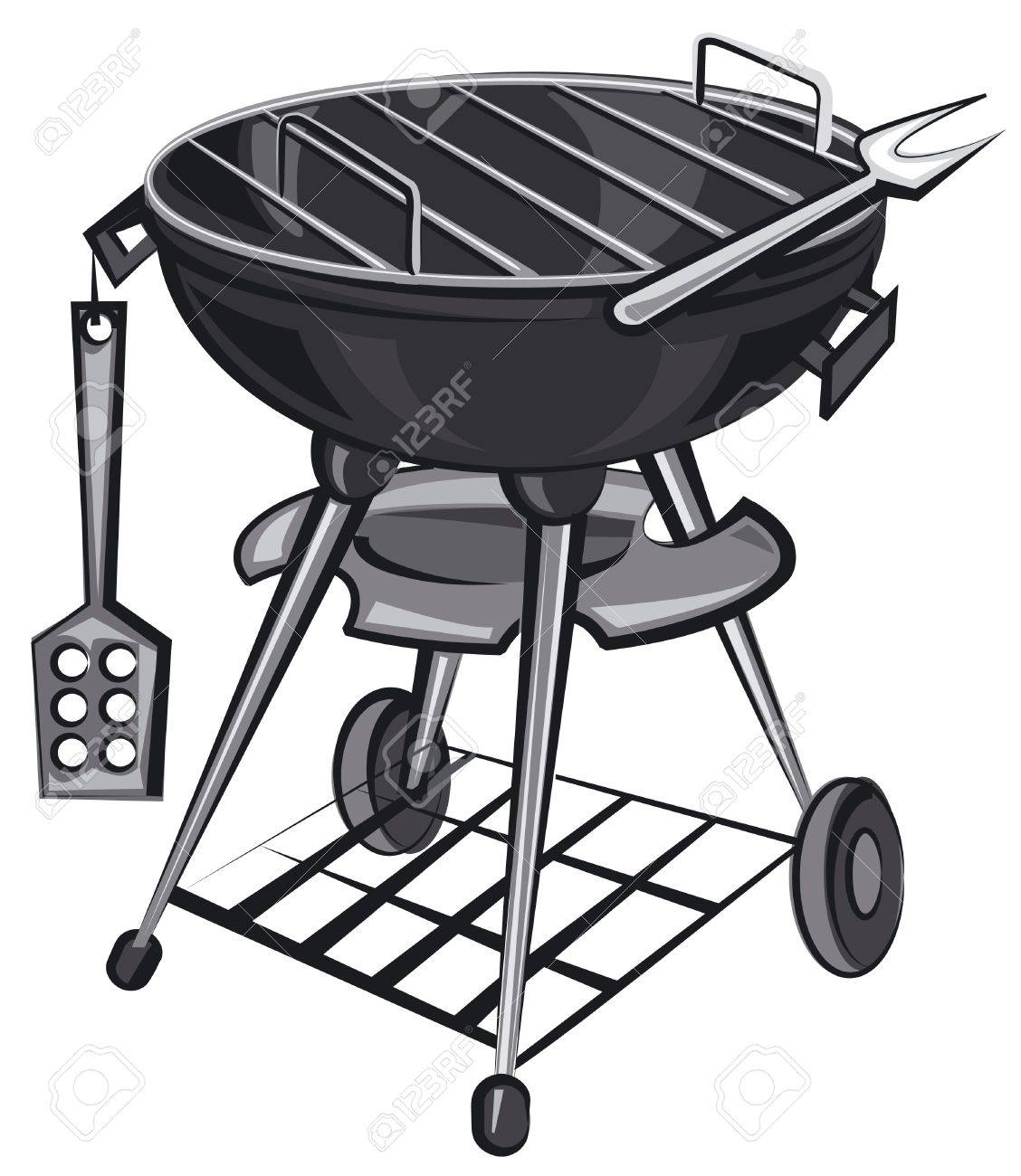 barbecue grill appliance - 15138243