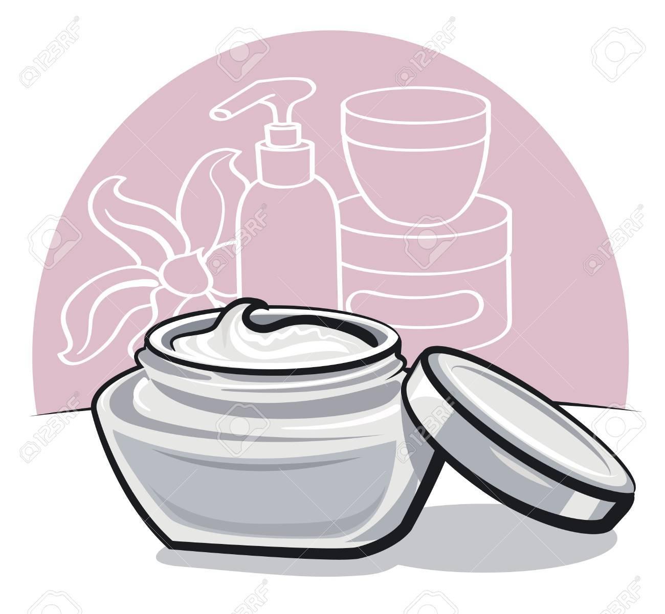 moisturizing cream Stock Vector - 15732181
