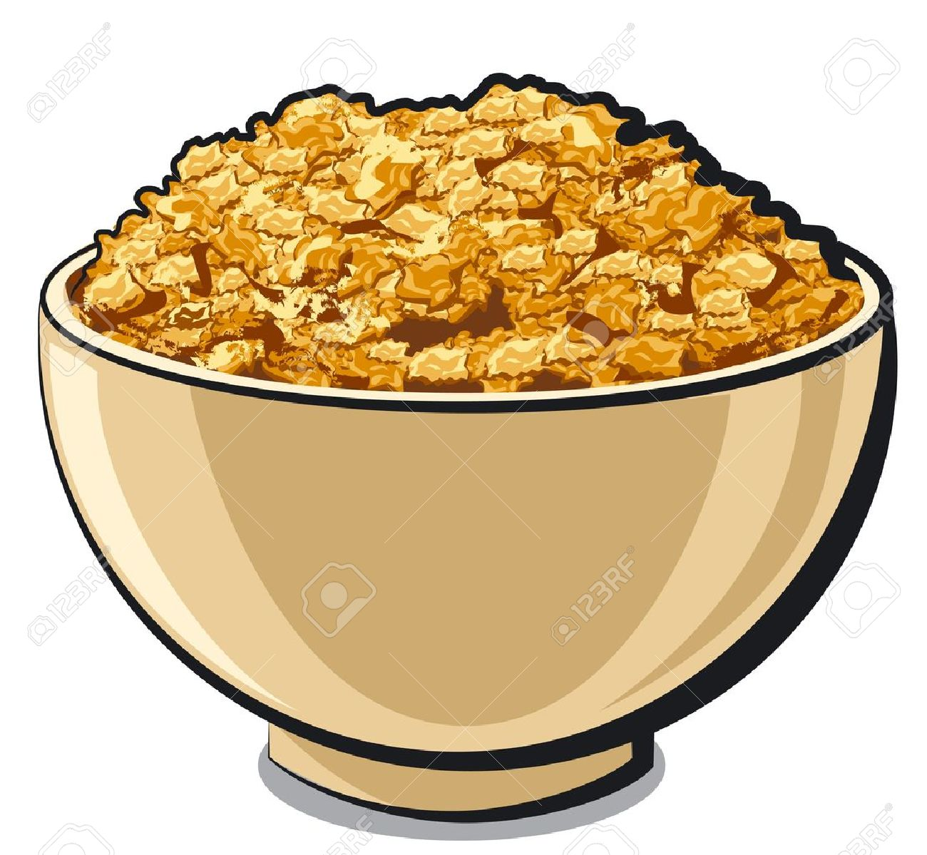 tasty cornflakes Stock Vector - 17939760
