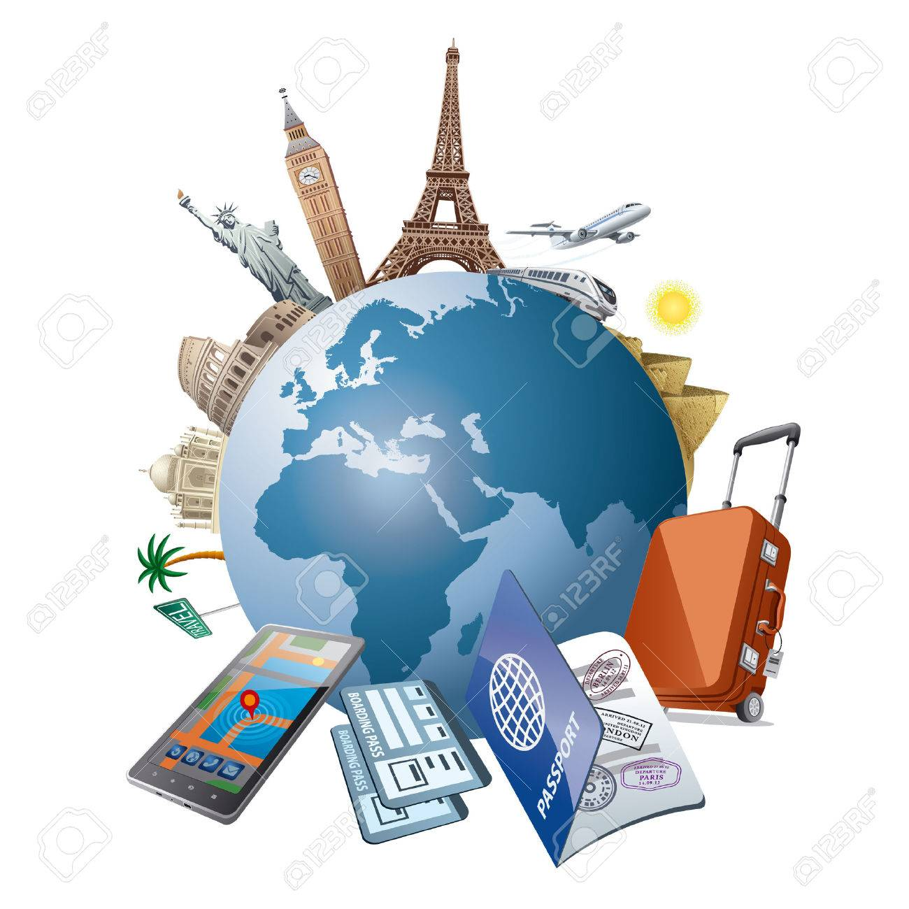 travel Stock Vector - 40844079