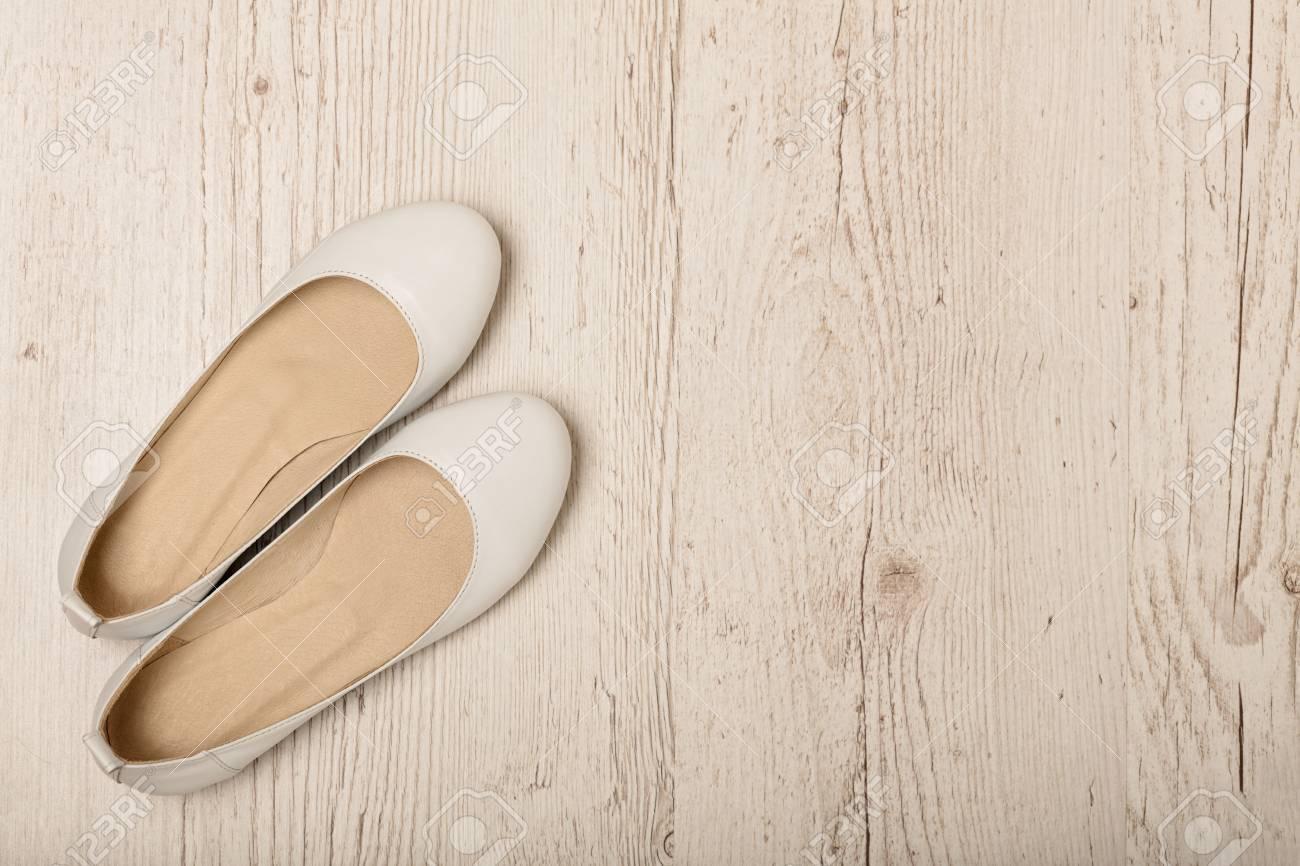 Women Shoes (ballet Flats) White Color