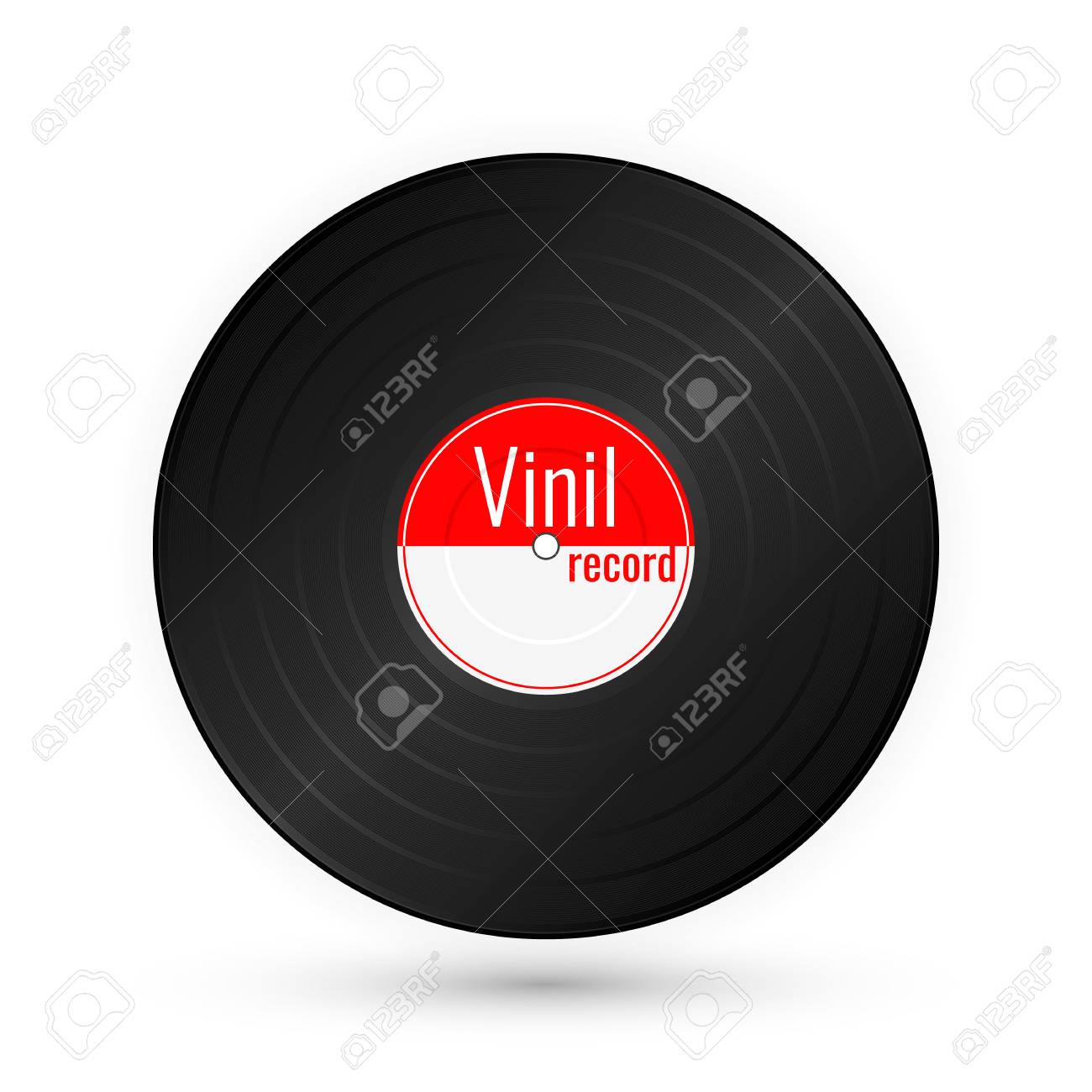 vinyl music record vintage gramophone disc vector illustration royalty free cliparts vectors and stock illustration image 124852769 123rf com