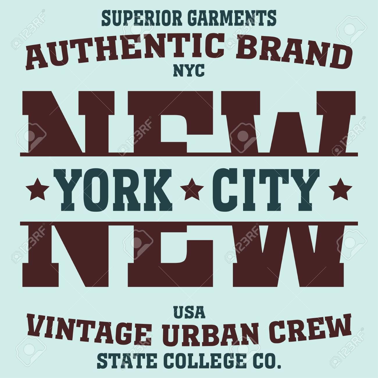 New york Brooklyn sport typography t-shirt. New york College fashion design  print for f4fc6050cf2