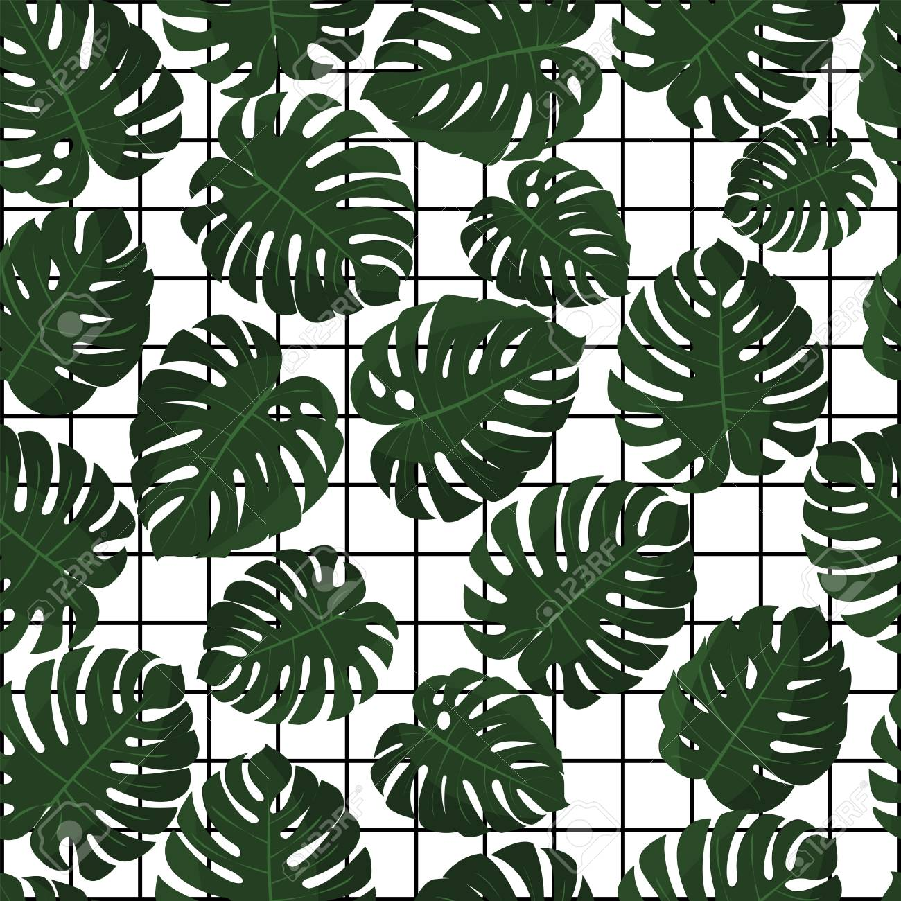 Tropical Leaves Vector Seamless Pattern In Swatch Jungle Leaves Royalty Free Cliparts Vectors And Stock Illustration Image 79965566 Download premium illustration of bronze tropical leaves patterned poster by chim about rose gold, bronze, bronze leave, plain brown and copper 595545. tropical leaves vector seamless pattern in swatch jungle leaves
