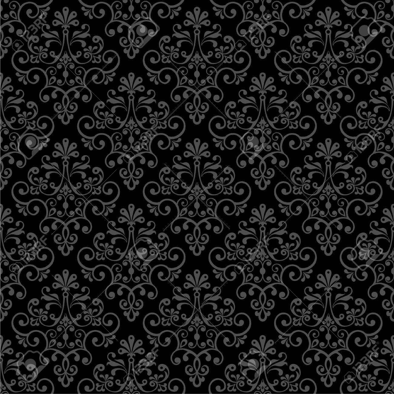Seamless vector floral pattern. Stock Vector - 6283814