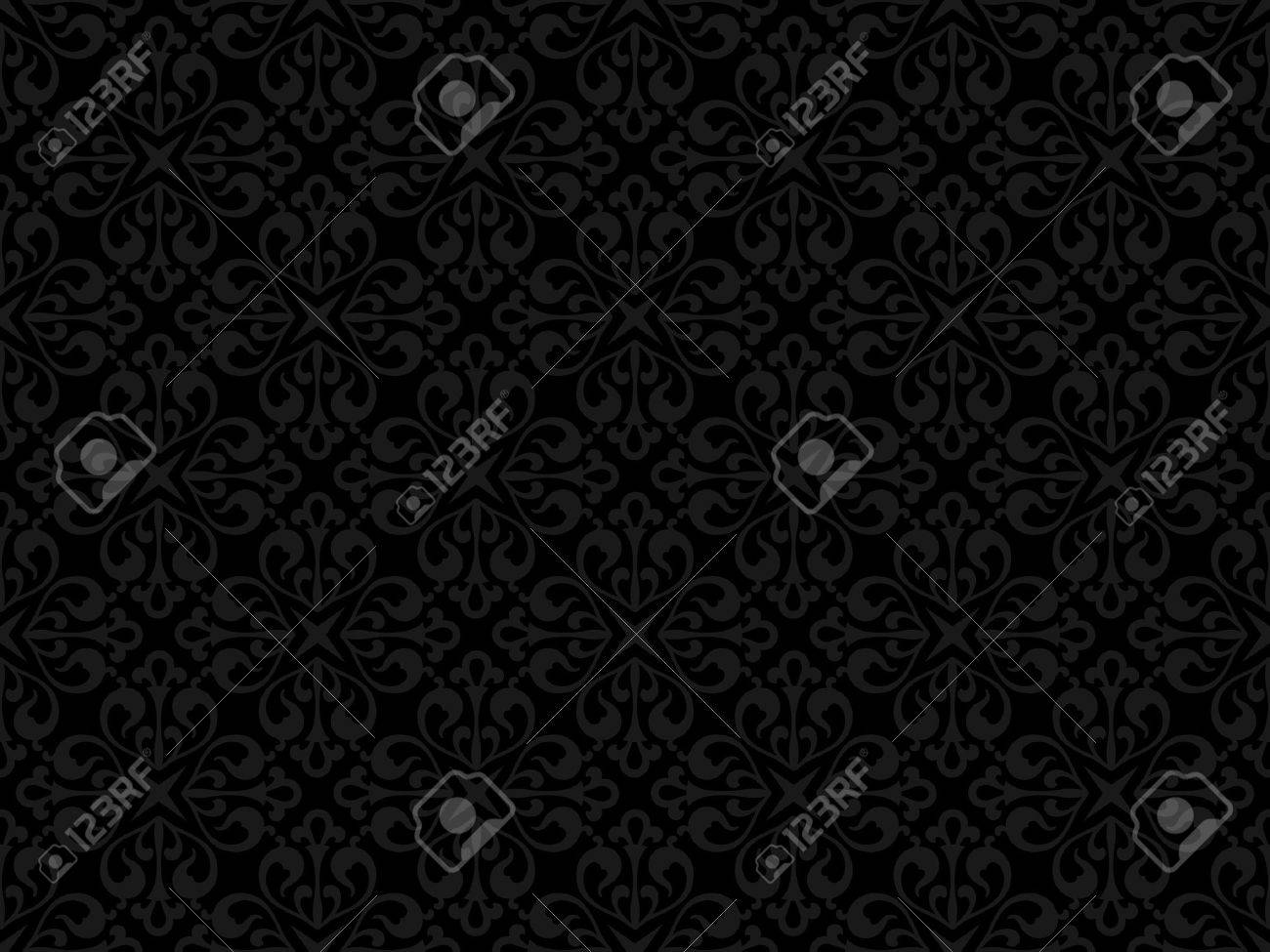 Floral seamless pattern - background for continuous replicate. See more seamless backgrounds in my portfolio. Stock Vector - 8098696