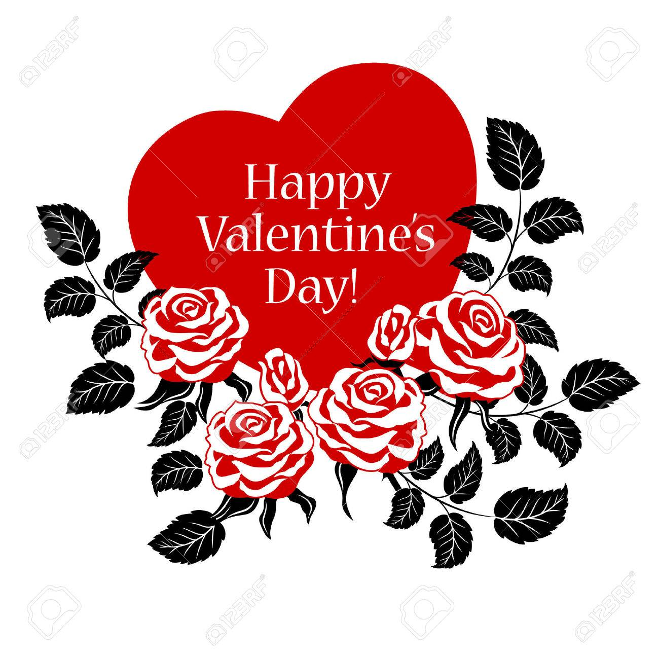 Happy Valentines Day Cards Happy Day Valentine Special Happy – Valentine Heart Card