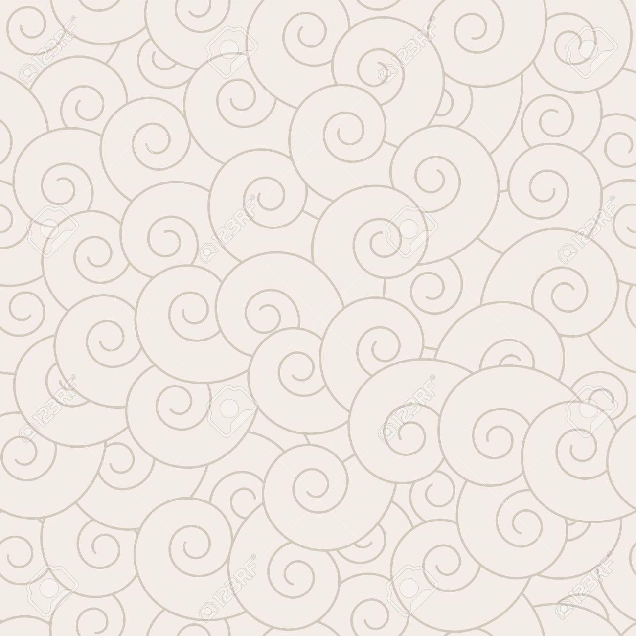 Espiral sin fisuras patrón - Fondo de vector de repetición continua. Ver  más modelos a la perfección en mi cartera.