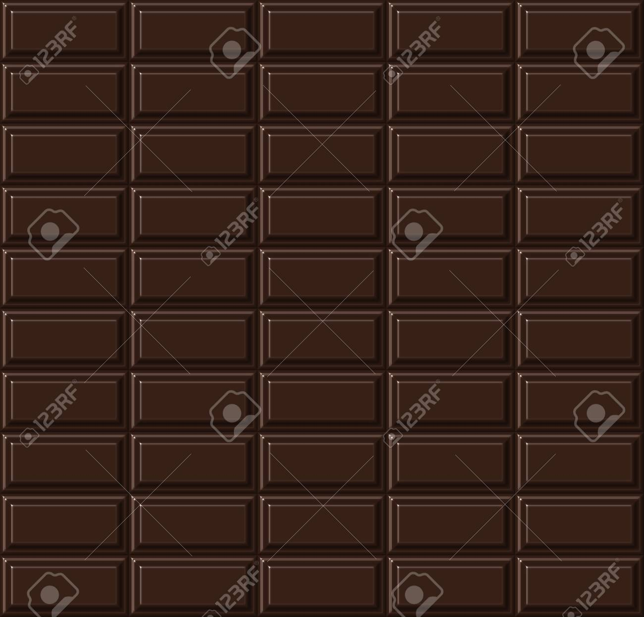 Chocolate seamless pattern. Stock Photo - 12032919