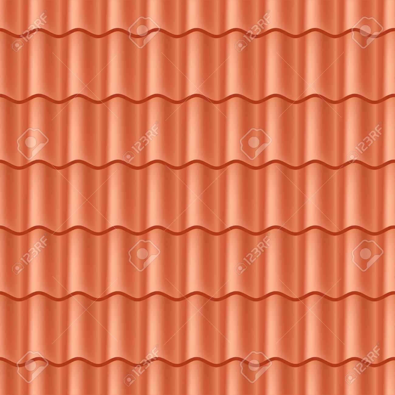 Dachziegel textur seamless  Nahtlose Terrakotta Dachziegel - Muster Für Die Kontinuierliche ...