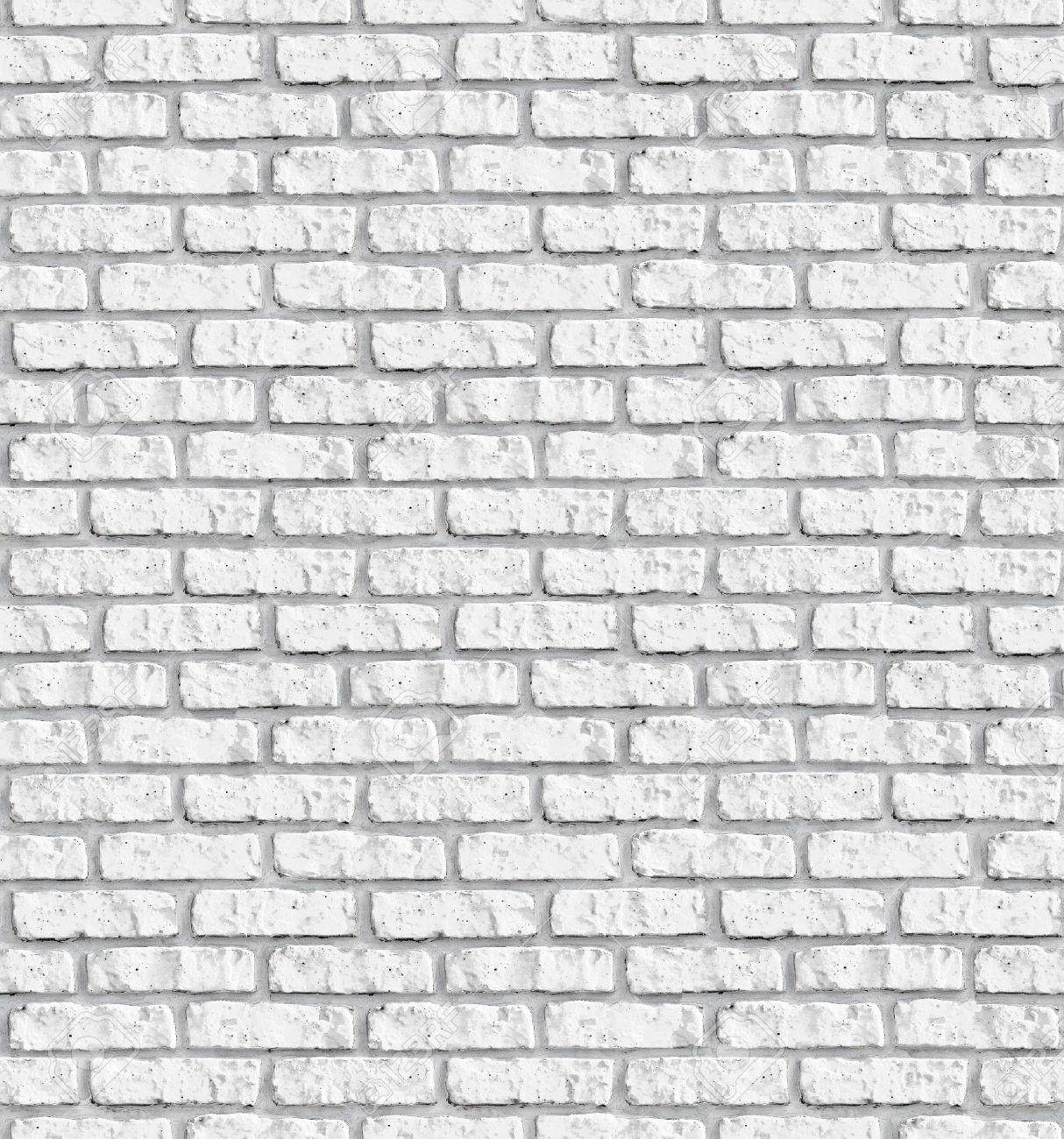Blanco Brickwall De Fondo Sin Fisuras - Patrón De Textura Continua ...