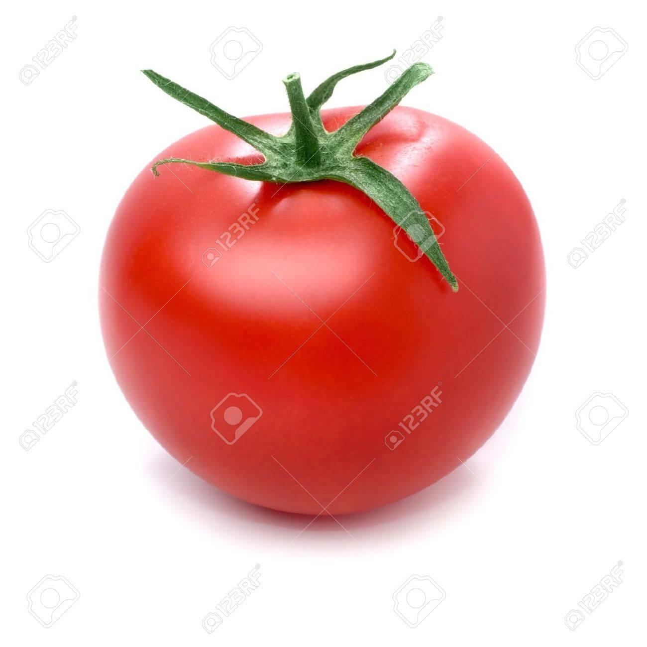 Tomato isolated on white background. - 19938782