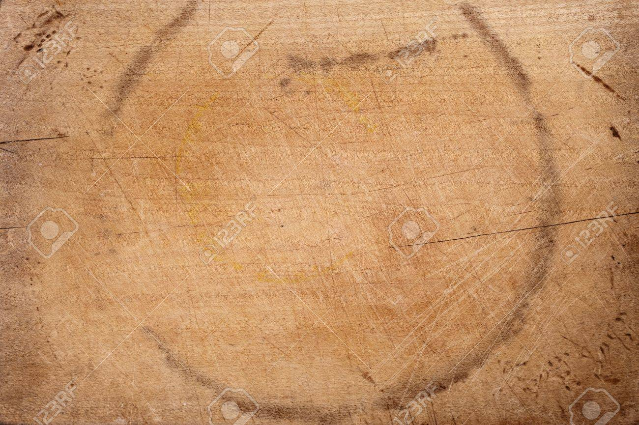 old chopping board wooden background Stock Photo - 10777657
