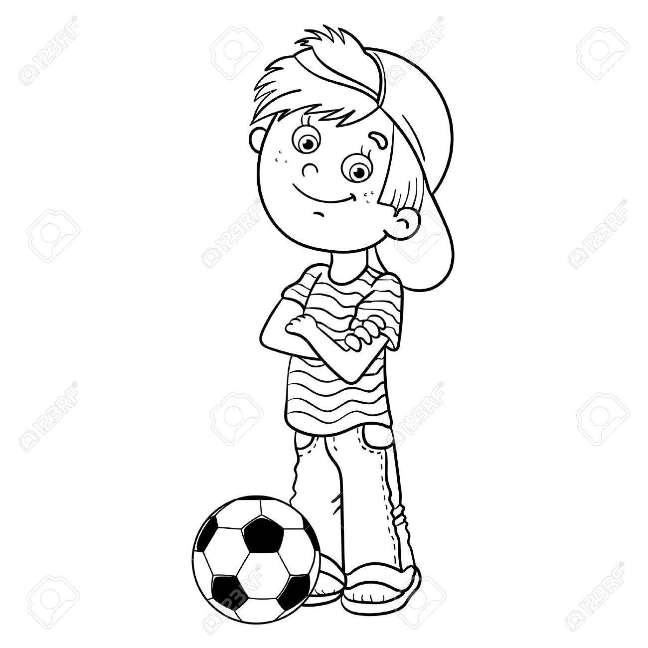 Großzügig Sport Malvorlagen Für Jungen Fußball Galerie - Entry Level ...