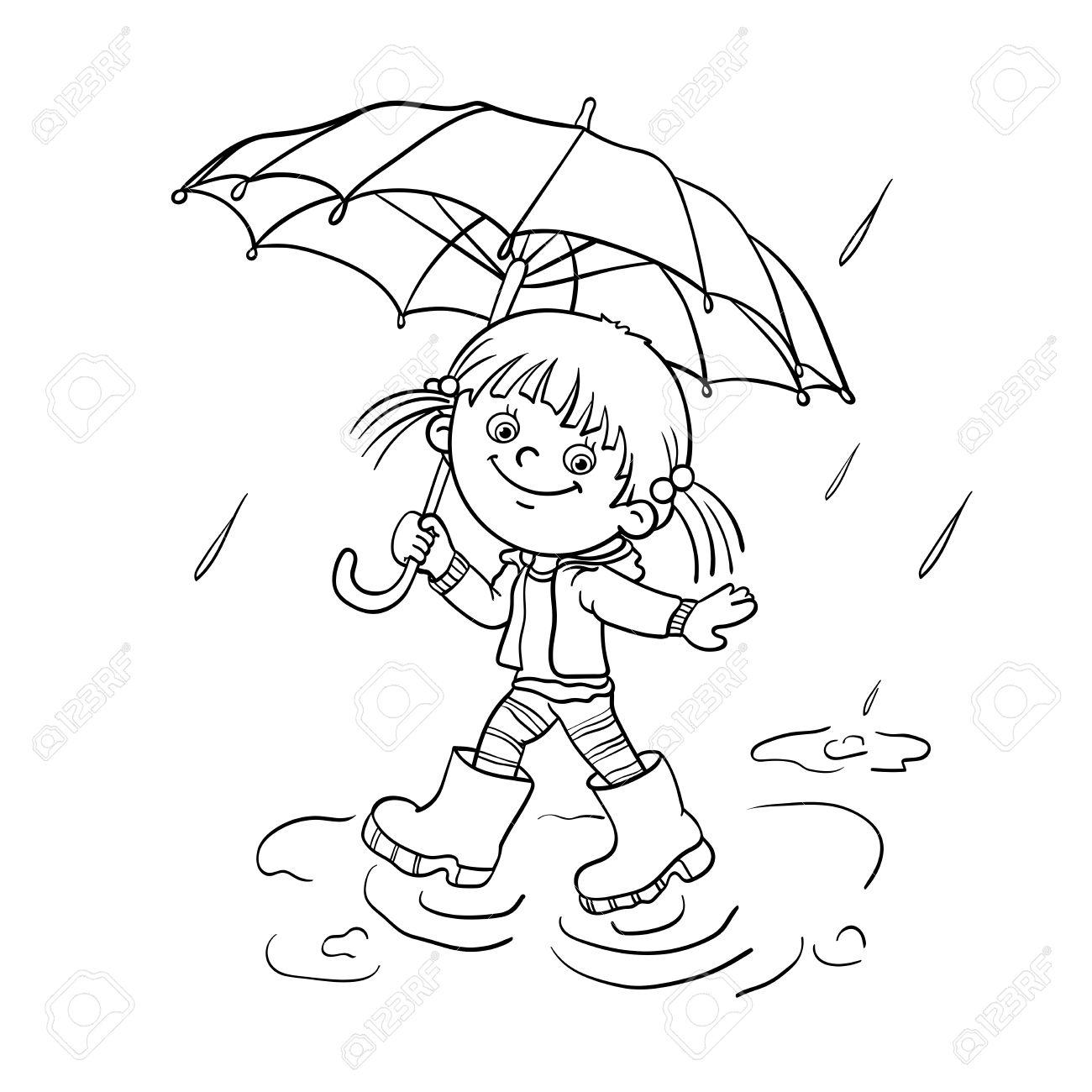 lluvia para colorear - Gidiye.redformapolitica.co