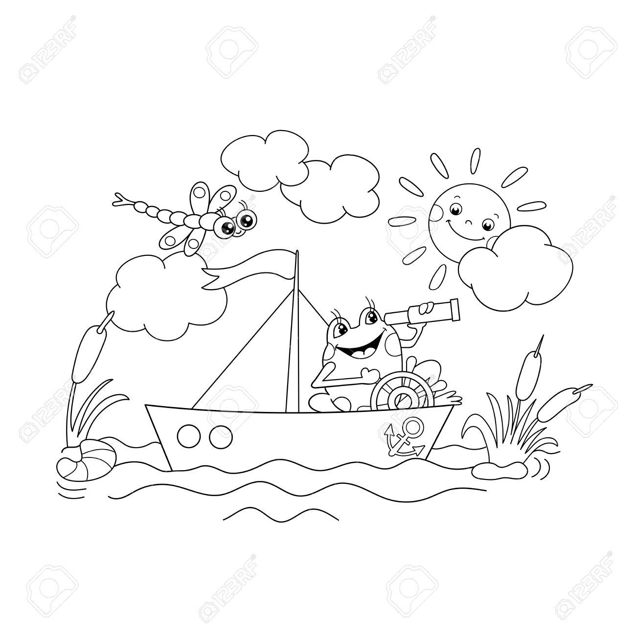 Ungewöhnlich Wandern Boot Färbung Seite Ideen - Malvorlagen Von ...