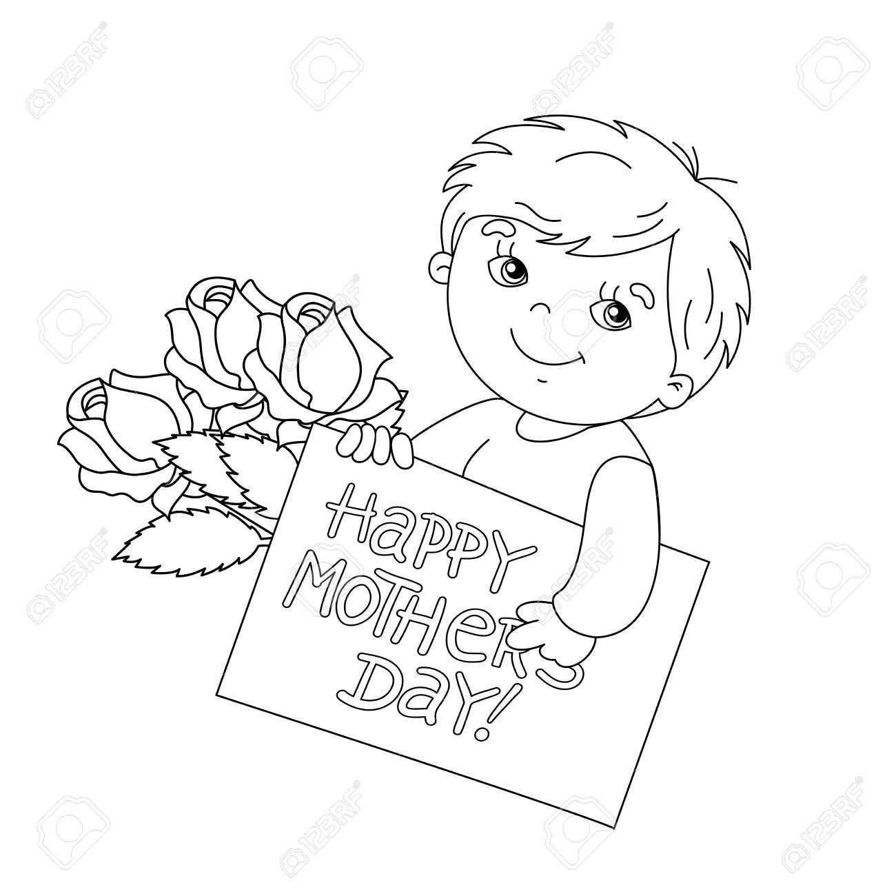 Feliz Dia De Las Madres Coloring Pages - Coloring Pages Kids 2019 | 1300x1300