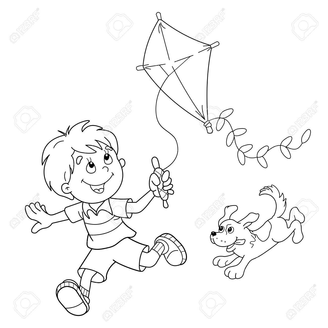 Atractivo Cometas Volando Para Colorear Fotos - Dibujos Para ...