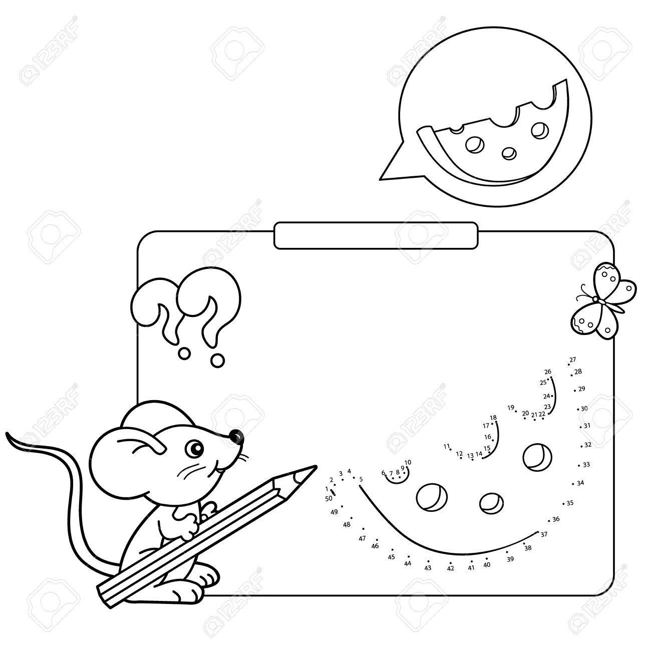 Juegos Educativos Para Niños Juego De Números Queso Dibujo Para