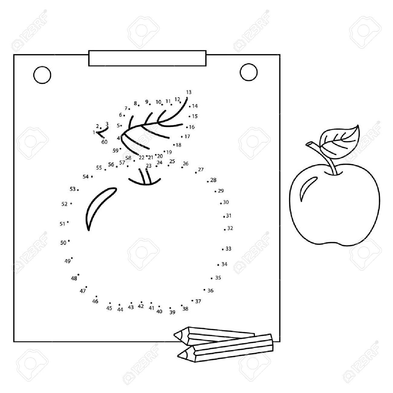 Nett Apfel Malbuch Zeitgenössisch - Malvorlagen Von Tieren - ngadi.info