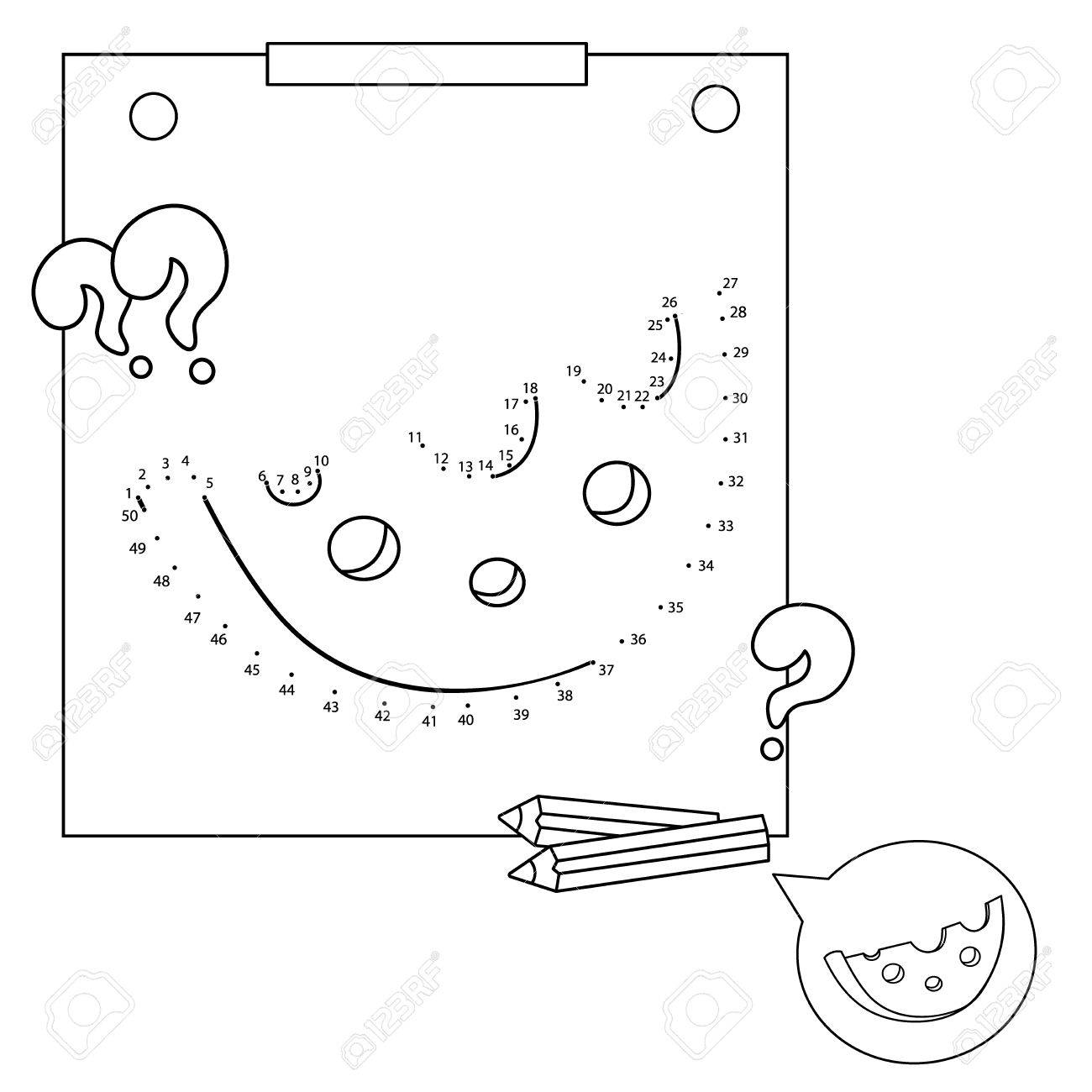 - Educational Games For Kids: Numbers Game. Cheese. Coloring Book