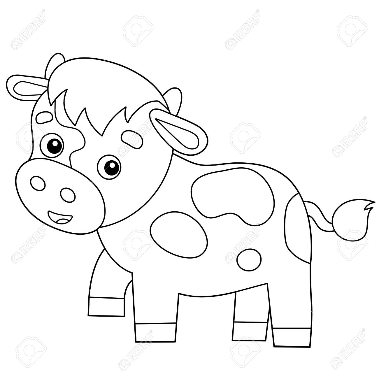 Farm Animal Coloring Pages - Get Coloring Pages | 1300x1300