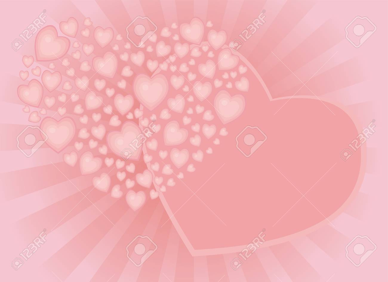 background for congratulations to the valentine's day, wedding Stock Photo - 11738093