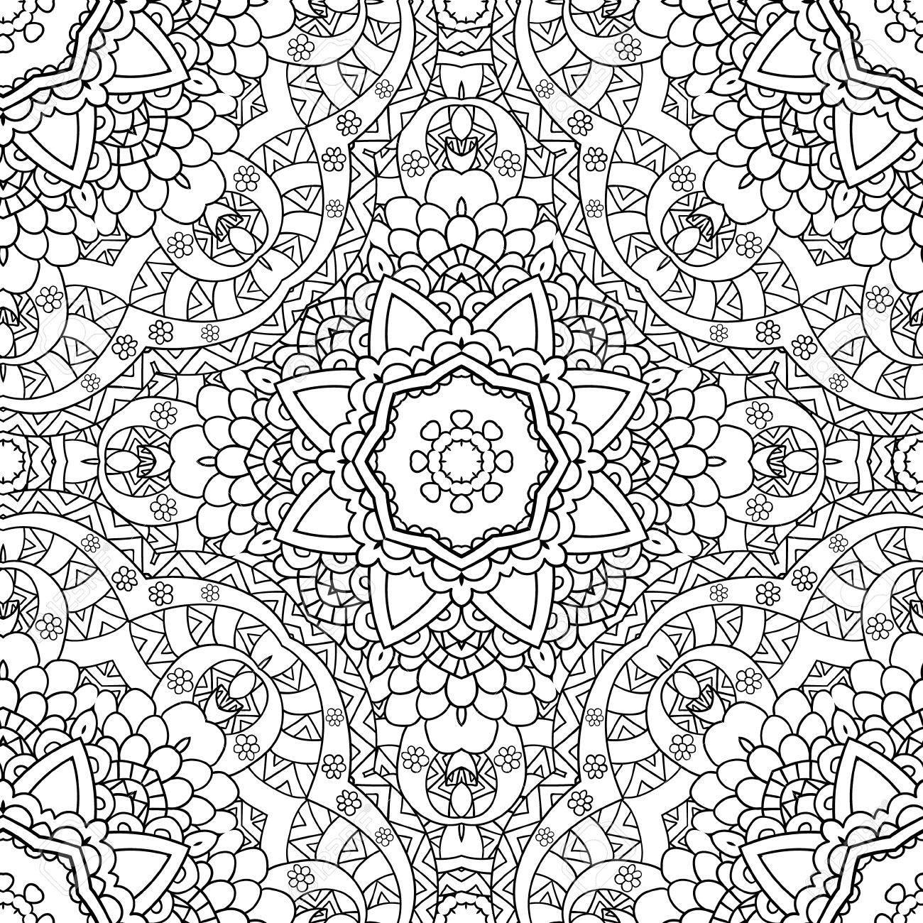 Coloriages Pour Les Adultes Coloriage Main Book Decorative Dessinee