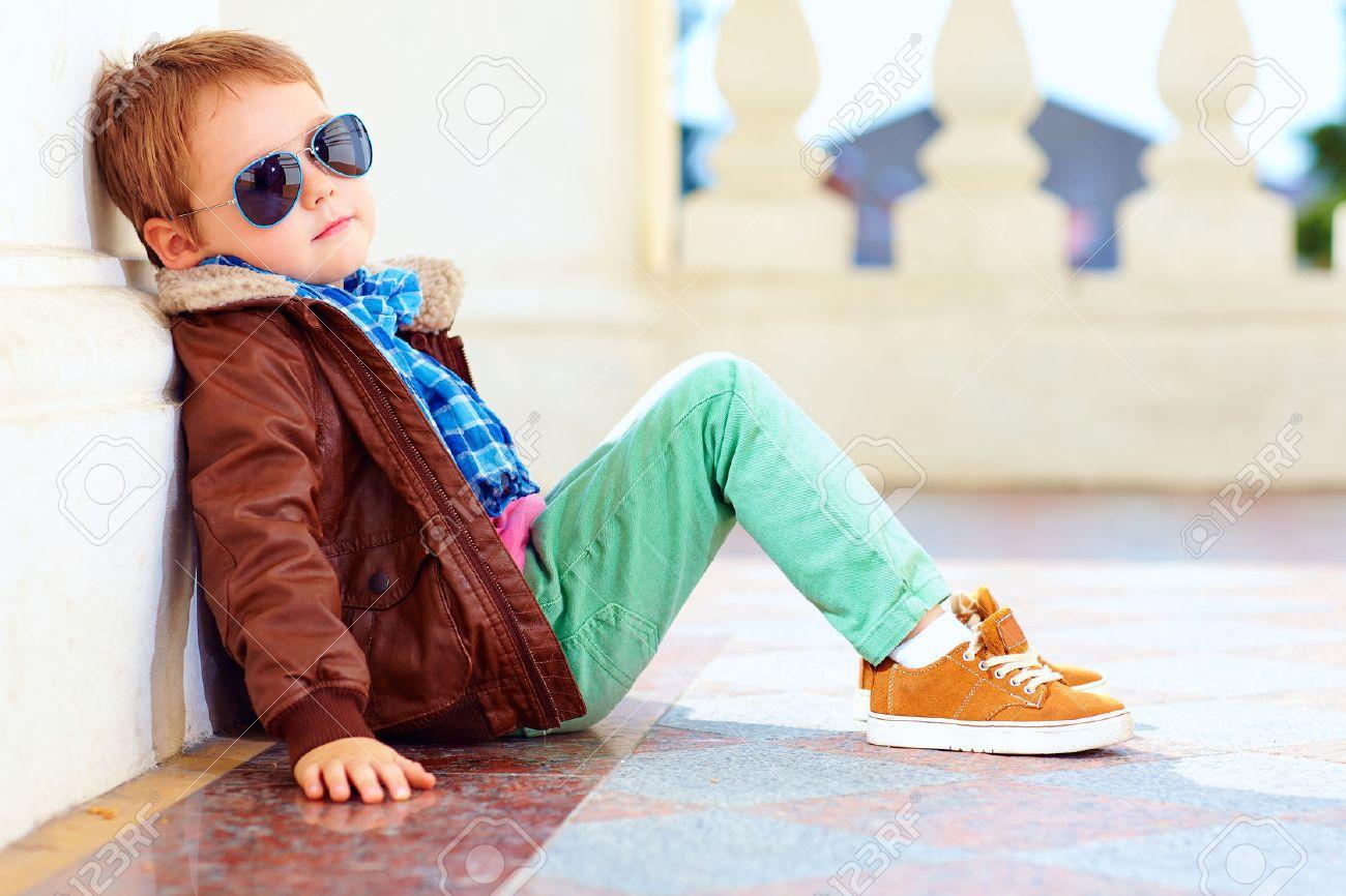 Photo stylish boy