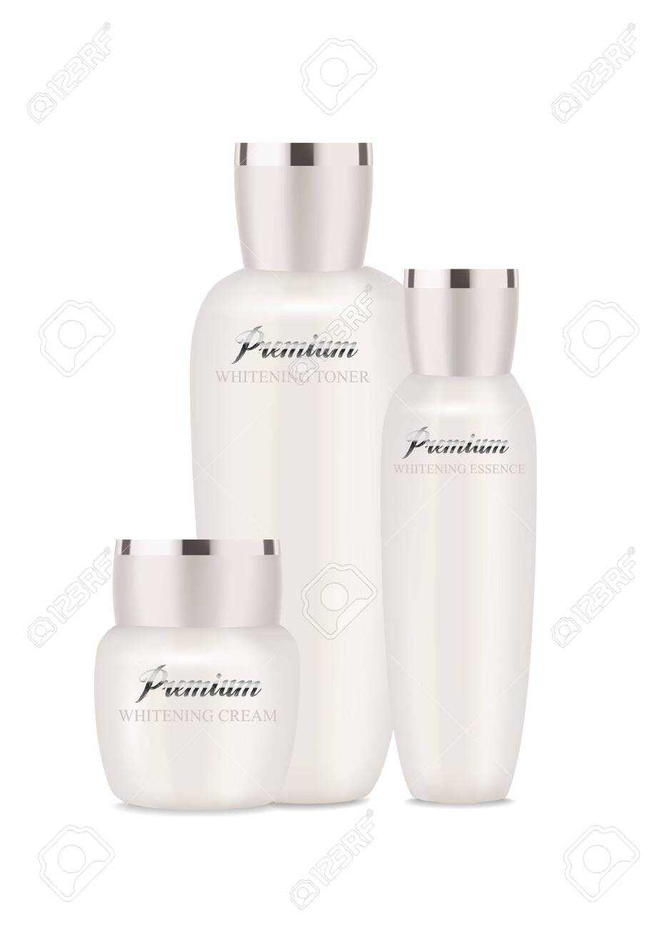Pearl cosmetic packages for moisturizer, lotion and other. - 137963644