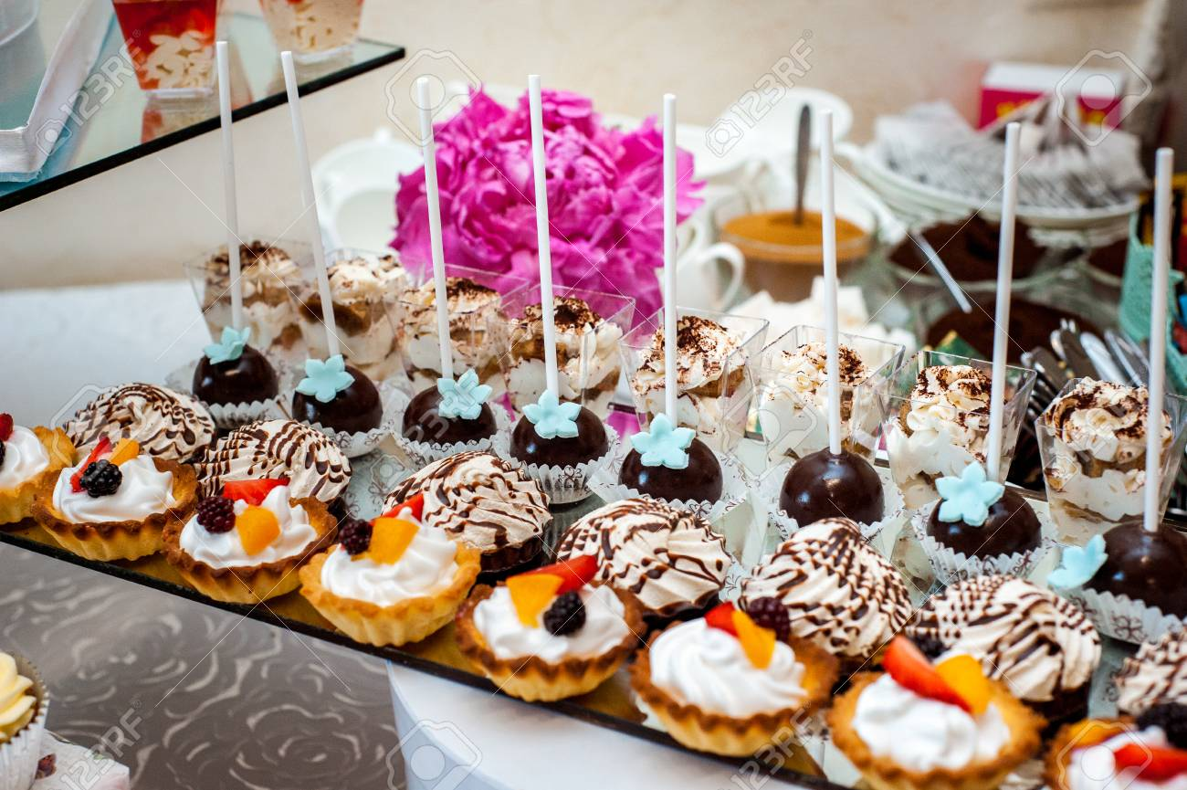 Delicious Wedding Reception Candy Bar Dessert Table Different